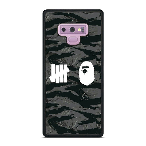 UNDEFEATED BAPE LOGO CAMO Samsung Galaxy Note 9 Case