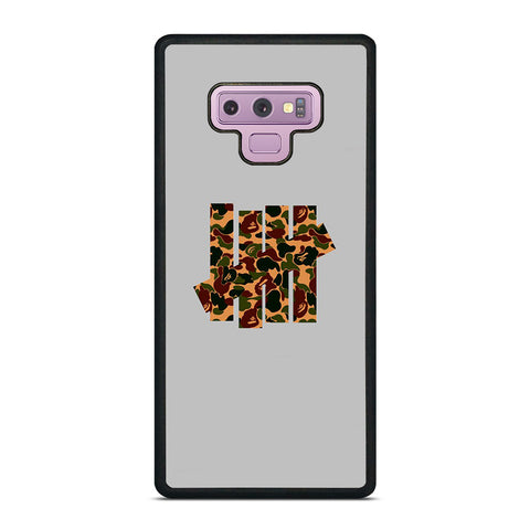 UNDEFEATED LOGO BAPE CAMO Samsung Galaxy Note 9 Case