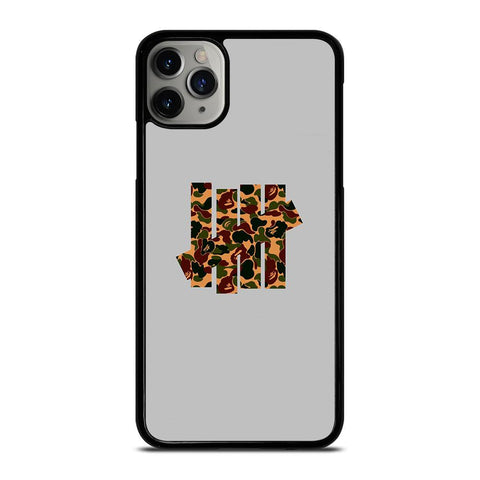 UNDEFEATED LOGO BAPE CAMO iPhone 11 Pro Max Case