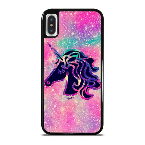 UNICORN HORSE GLITTER iPhone X / XS Case