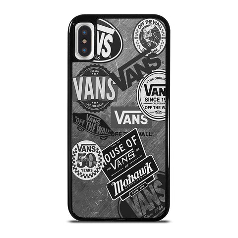 VANS CLASSIC STICKER COLLAGE iPhone X / XS Case