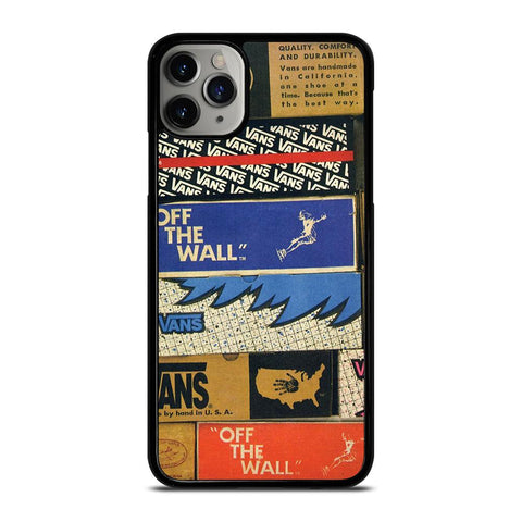 VANS LOGO BOX VINTAGE iPhone 11 Pro Max Case