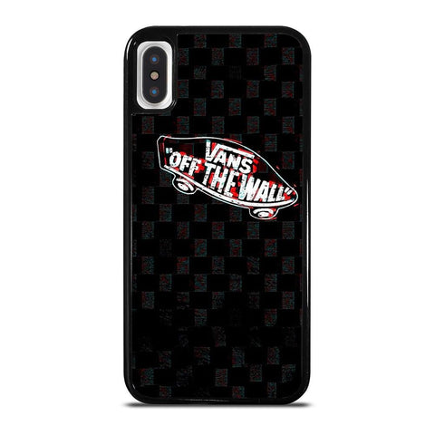 VANS OFF THE WALL GLITCH LOGO iPhone X / XS Case