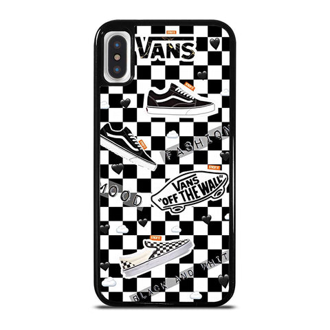 VANS OFF THE WALL SHOES COLLAGE iPhone X / XS Case