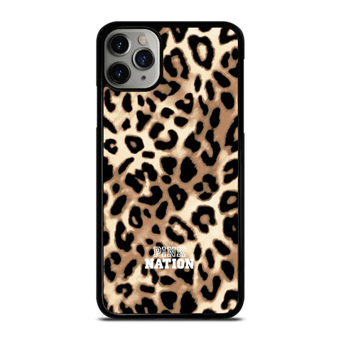 VICTORIA SECRET PINK NATION LEOPARD iPhone 11 Pro Max Case