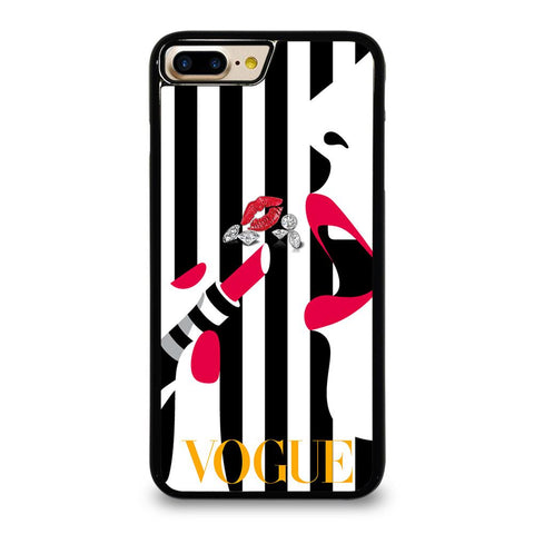 VOGUE LOGO LIPSTICK iPhone 7 Plus Case