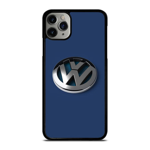 VW VOLKSWAGEN GLOSSY LOGO EMBLEM iPhone 11 Pro Max Case