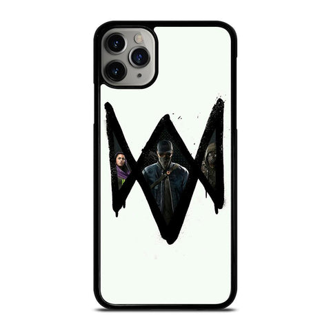 WATCH DOGS 2 LOGO ART iPhone 11 Pro Max Case