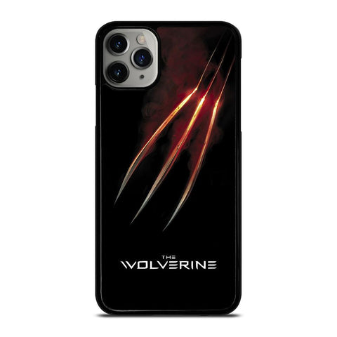 WOLVERINE GLOWING CLAW X-MEN iPhone 11 Pro Max Case