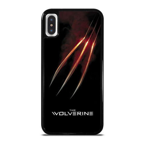 WOLVERINE GLOWING CLAW X-MEN iPhone X / XS Case