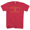 YELLOWSTONE DUTTON RANCH-mens-t-shirt-Red