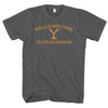 YELLOWSTONE DUTTON RANCH-mens-t-shirt-Charcoal