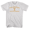 YELLOWSTONE DUTTON RANCH-mens-t-shirt-White