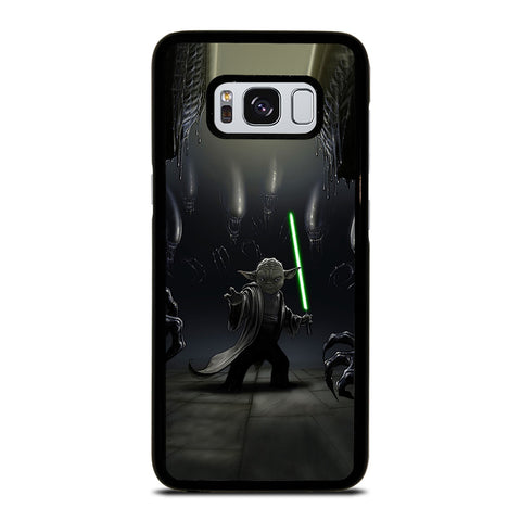YODA VS ALIENS Samsung Galaxy S8 Case