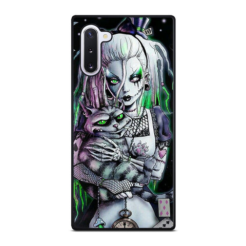 ZOMBIE ALICE IN WONDERLAND Samsung Galaxy Note 10 Case