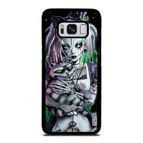 ZOMBIE ALICE IN WONDERLAND Samsung Galaxy S8 Case