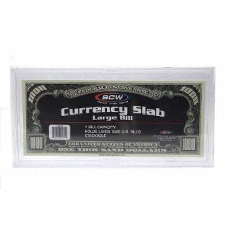 BCW Large Currency Slab