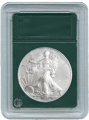 Coin World Coin Slabs for Silver Eagles- Slab