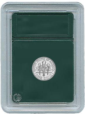 Coin World Coin Slabs for Dimes & Half Dimes