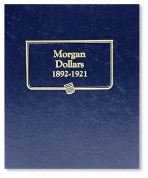 Whitman Albums: Morgan Silver Dollars -1892-1921