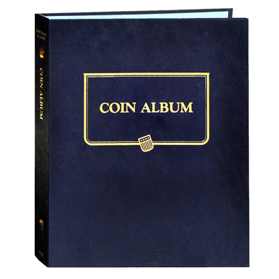 Whitman Albums: BLANK COIN ALBUM (no pages)