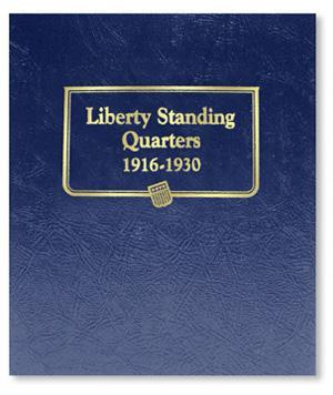 Whitman Albums: Standing Liberty Quarters -1916-1930