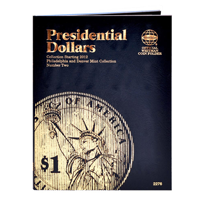 Whitman Folder Presidential Dollar Vol 2 P&D 2012-2016
