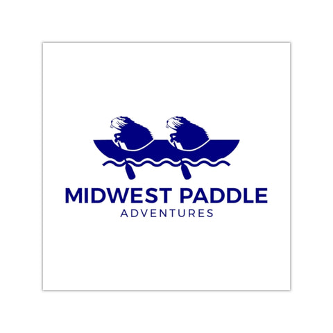 MWPA Blue, Outdoor Square Sticker (EU)