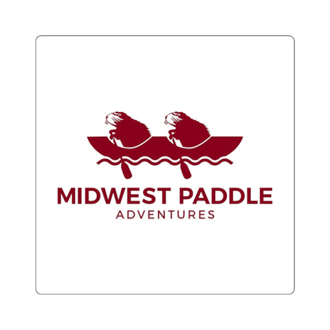 MWPA Red, Indoor Square Stickers