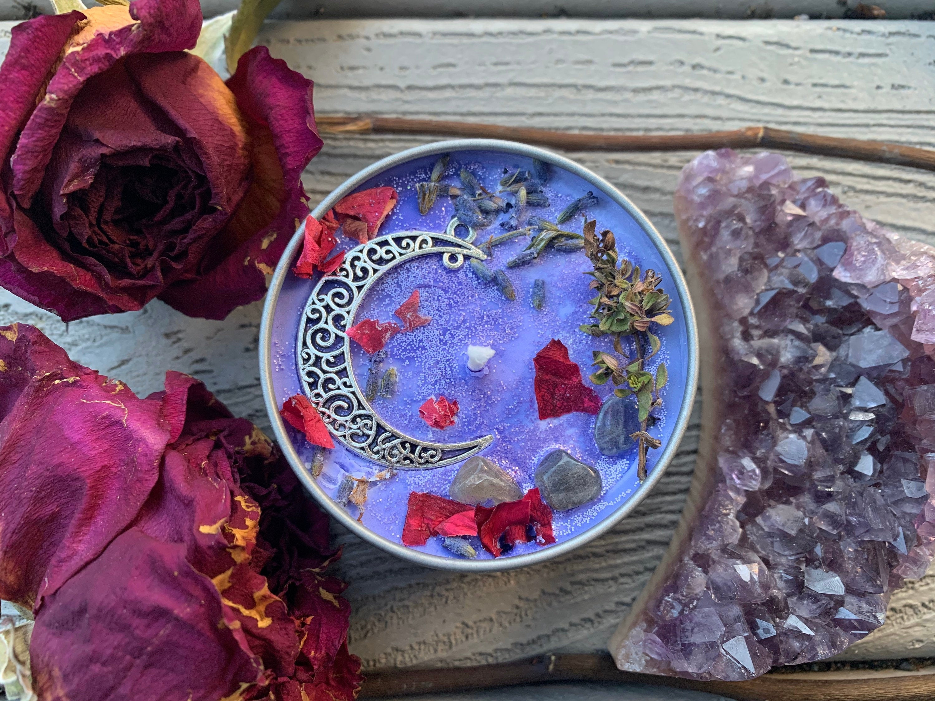 MOON CHILD Ritual Candle