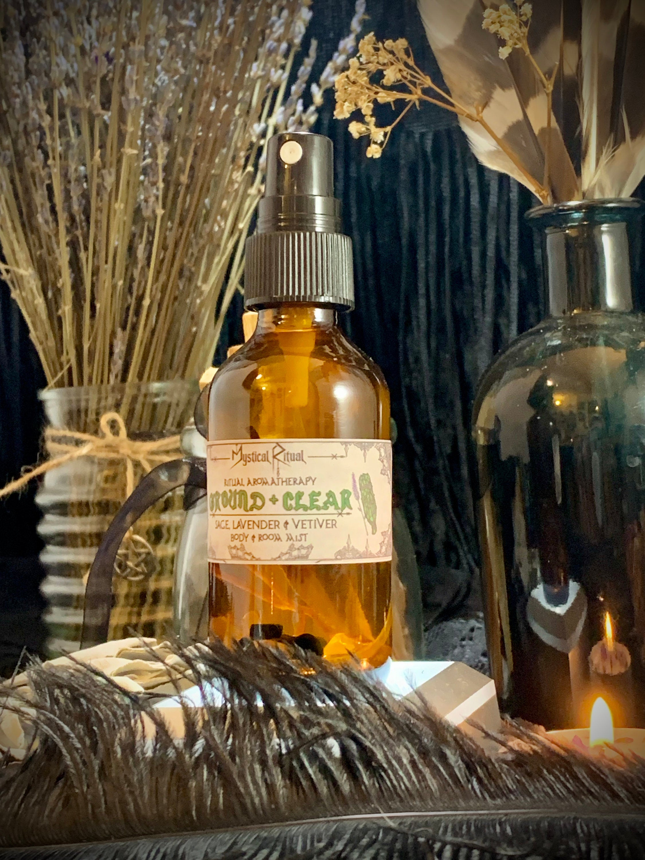 GROUND & CLEAR Aromatherapy Mist