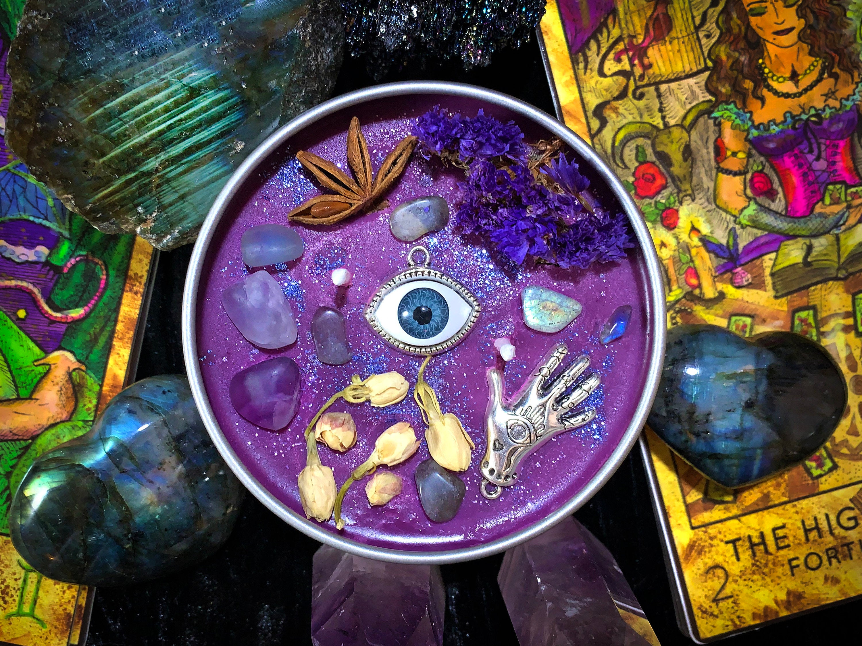 ORACLE'S EYE Candle | Psychic Ability