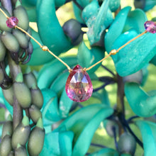 Load image into Gallery viewer, Pink Tourmaline Alohi Drop
