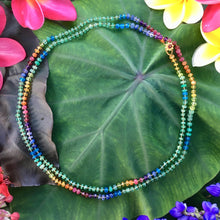 Load image into Gallery viewer, Zambian Emerald Rainbow Lei