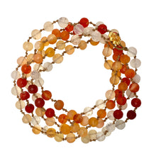 Load image into Gallery viewer, Mexican Fire Opal Mala