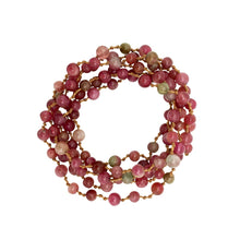 Load image into Gallery viewer, Pink Tourmaline Mala