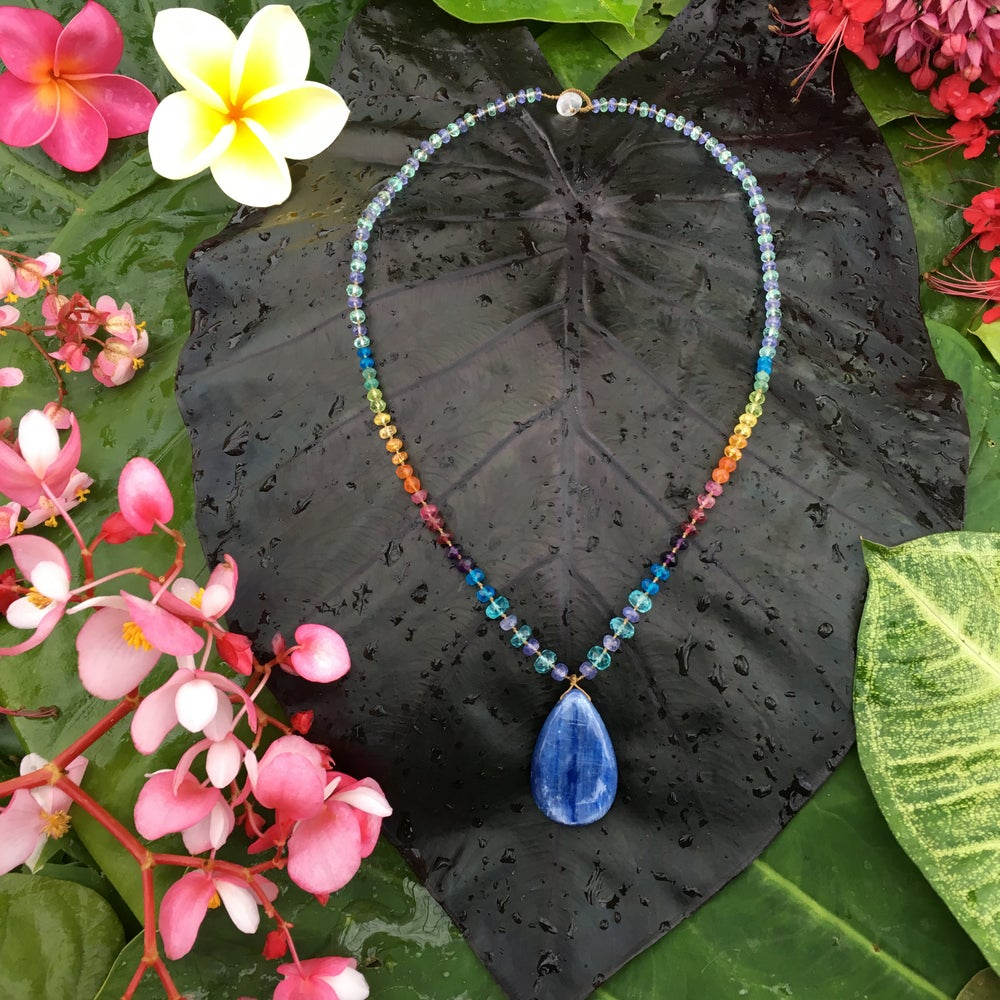 Kyanite Ocean Rainbow