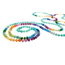Load image into Gallery viewer, Colombian Emerald Rainbow Lei