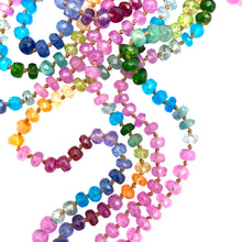 Load image into Gallery viewer, Pink Sapphire Rainbow Lei