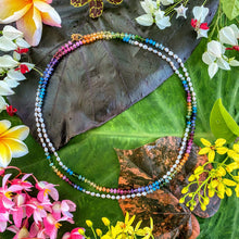 Load image into Gallery viewer, Keshi Pearl Rainbow Lei