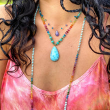 Load image into Gallery viewer, Larimar Amazonite Rainbow Mana