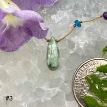 Load image into Gallery viewer, Green Kyanite Rainbow Drop