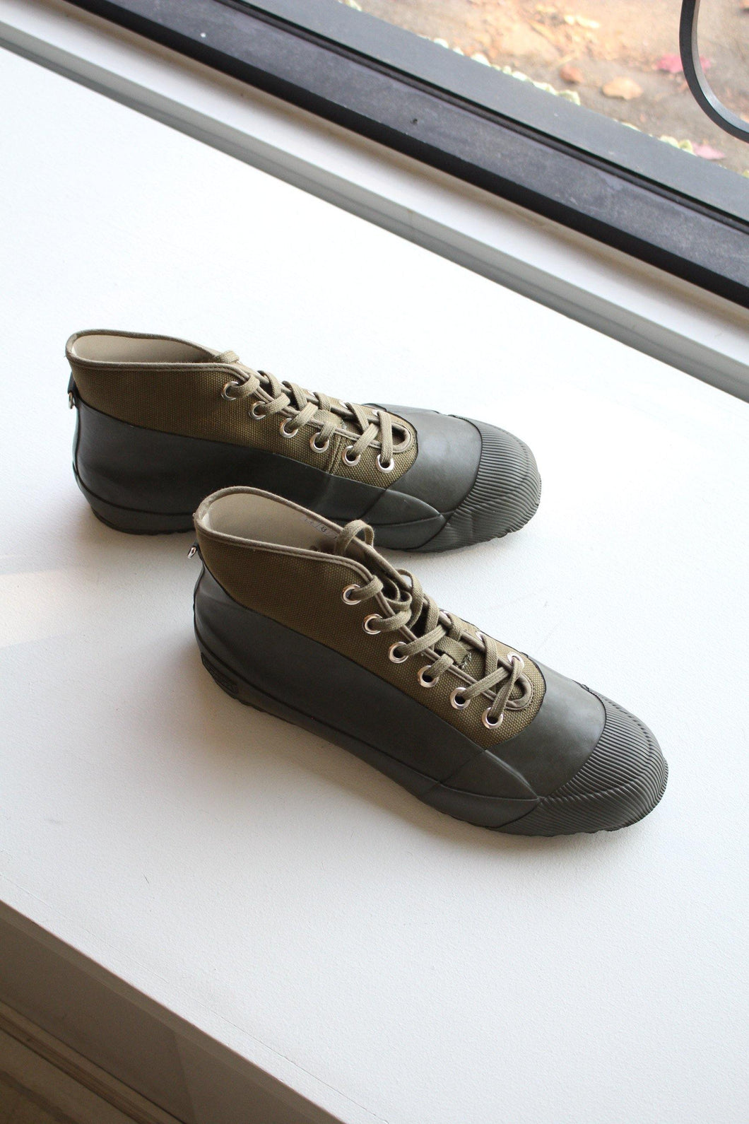 Rubber Sneaker - Military Olive