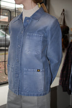 Load image into Gallery viewer, Washed Work Jacket - Blue