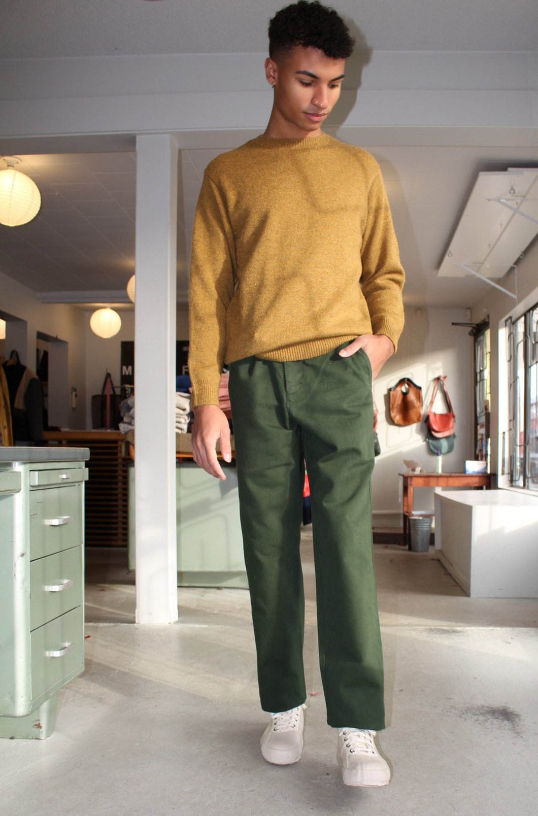 Lynch Trousers - Forest Green