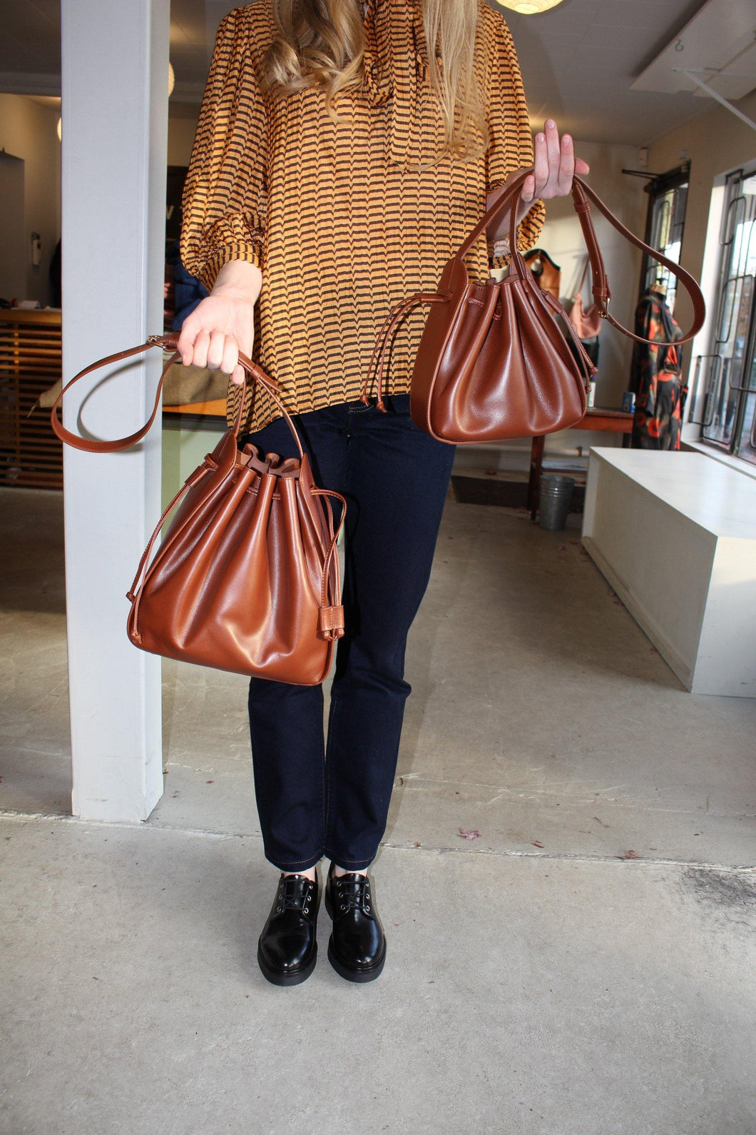 Courtney Bag - Chestnut