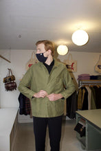 Load image into Gallery viewer, Vintage Washed Work Jacket - Olive