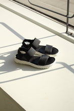 Load image into Gallery viewer, Raya - Black Sporty Sandal