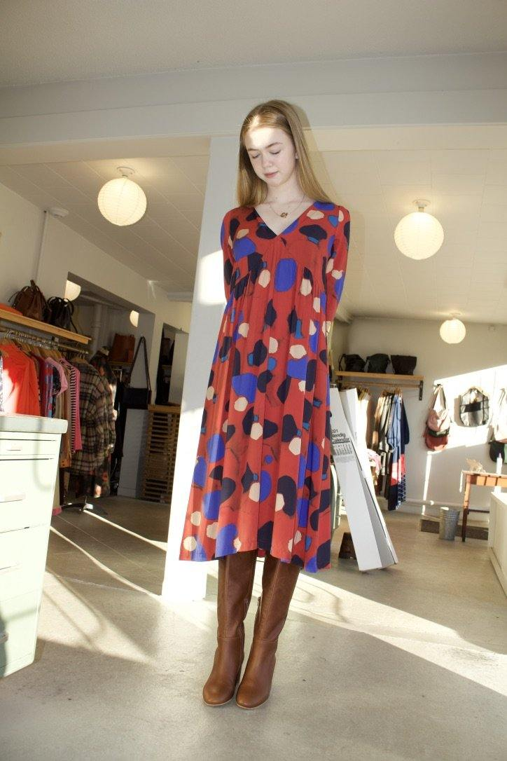 Blanch Dress - Red