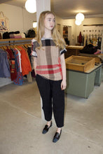 "Load image into Gallery viewer, Handwoven Tee - ""BuRBeRy"""